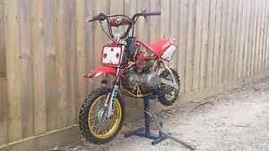 HONDA XR50R BBR Bayswater Knox Area Preview