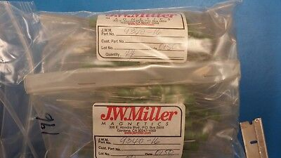 5 Pcs 9340-16 Jw Miller Fixed Rf Inductor 6.8uh 10