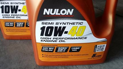 Nulon 10w40 Semi synthetic engine oil