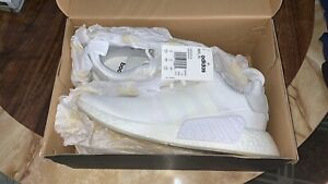 Adidas NMD R2 Triple White Size 10.5 for Sale!
