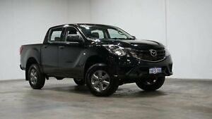 2020 Mazda BT-50 UR0YG1 XT Jet Black 6 Speed Sports Automatic Utility Welshpool Canning Area Preview