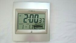 Howard Miller Radio-Controlled LCD Wall/Table Digital Alarm Clock