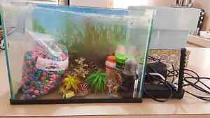 Small Fish/Crazy Crabs Tank &  Accessories Seville Grove Armadale Area Preview