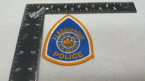 Vintage Albuquerque State of New Mexico Police Patch