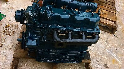 Mustang Skid Steer Kubota V2203 51 Hp Diesel Engine - Used