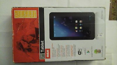"""7 """" inch  TABLET RCA RCT6378W2 black  4gb ,android  4.1.x  jelly  bean"""