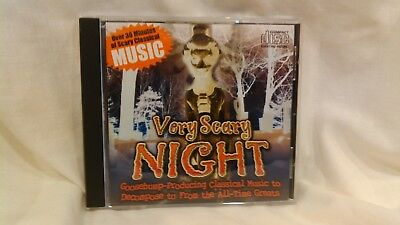 Sehr Gruselig Night CD Goosebump Producing Musik aus PC Treasures 2007 cd4218