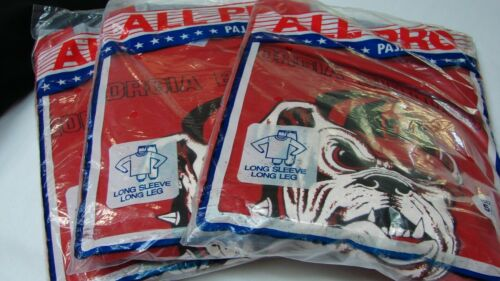 ALL FOR ONE $ ~ LOT 3 VINTAGE NEW OLD STOCK BOYS BULLDOG PAJAMAS size 5