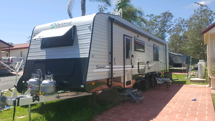 SCENIC BY SPACELAND CARAVANS 29ft 5 berth 2016