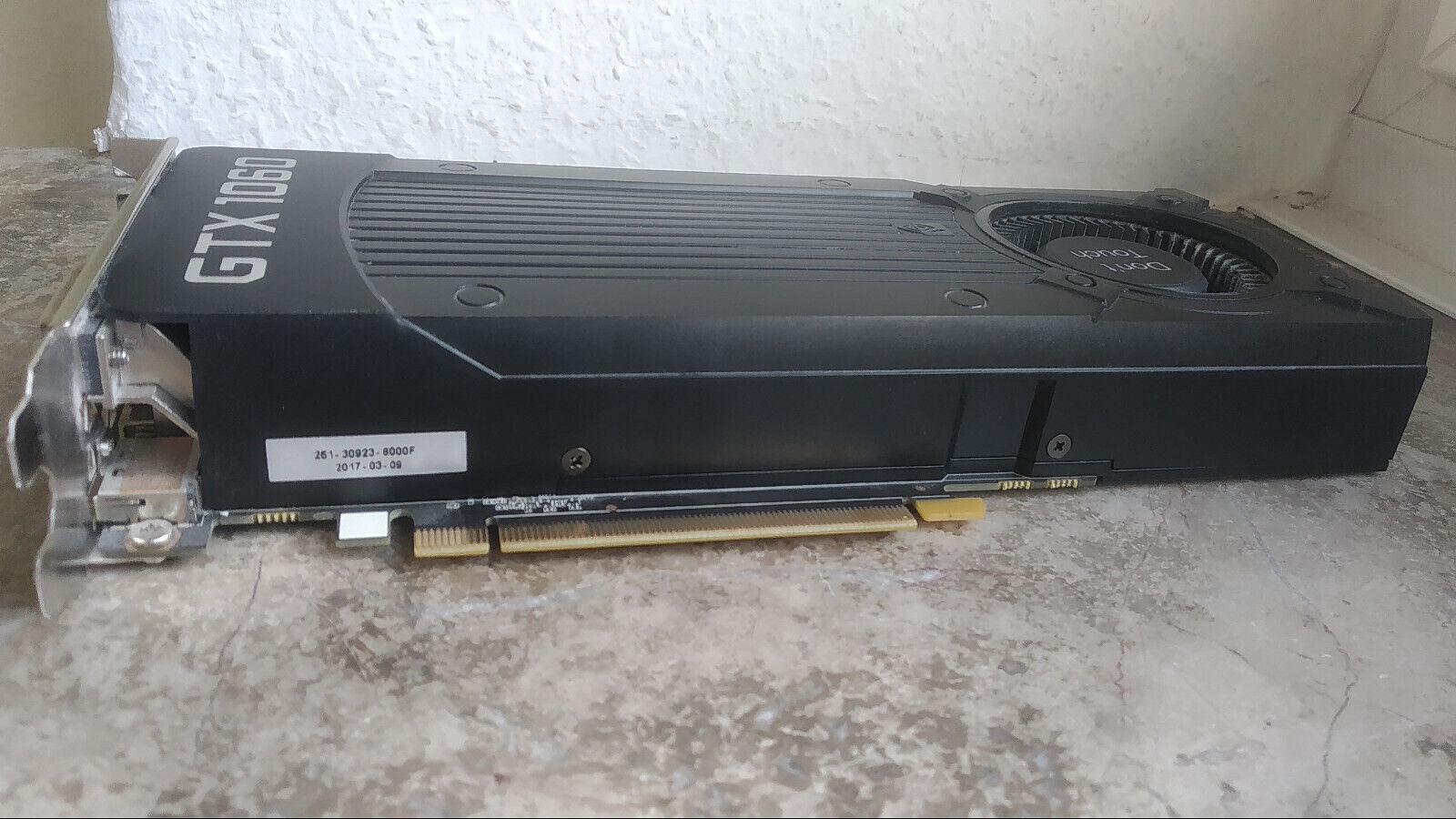 Grafikkarte GeForce GTX 1060 6gb gut erhalten, DVI, HDMI, DisplayPort