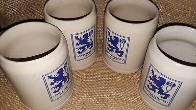 Vintage Lowenbrau Munich .5 Liter Stoneware German Beer Mug Stein Salt Glaze 4