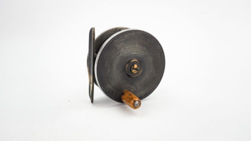 """A. ALLAN BRASS AND ALLOY 2 1/2"""" TROUT FLY REEL"""