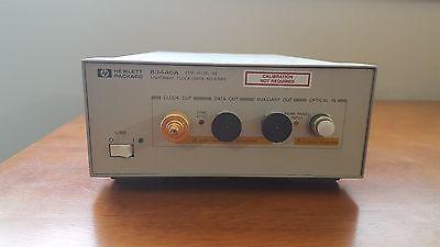 Hp 83446a Lightwave Clock Data Receiver