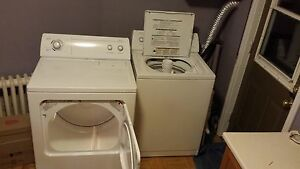 Matching Whirlpool Washer and Dryer for sale