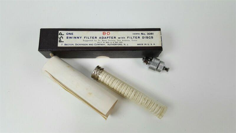 BD Becton Dixon Swinny filter adapter with discs - filter syringe 3601