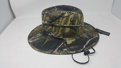 Madd Hatter Trilby Hunter's Flat Brimmed Size XL Gorgious Woods Camo Pattern NWT