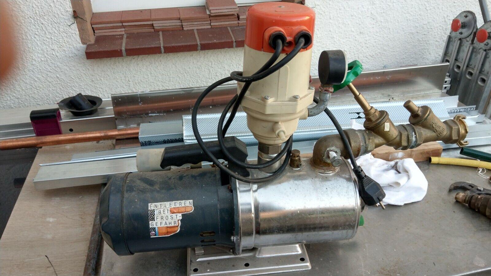 Zehnder Jet Pumpe Typ WX 140, aus Rückbau Grundwasser-Sickerschacht.