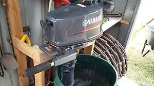 Yamaha 3.9 Outboard Motor Orford Glamorgan Area Preview