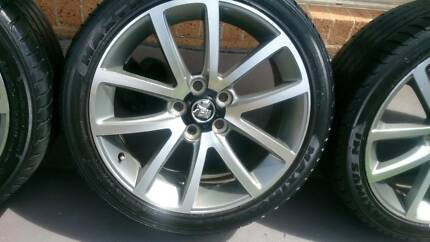"19"" Holden SVV Rims and Tyres 245/40R19"