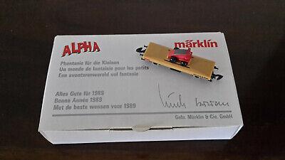 """Märklin Spur """"Z"""" Güterwagen Sonderedition -Alles Gute für 1989-"""