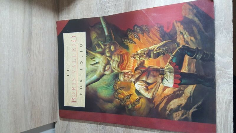 The Boris Vallejo Portfolio Fantasy Art large portfolio | 1994