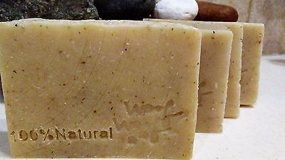 1 Dog shampoo soap 100% Vegan natural flea tick bar Diatomaceous Earth+Neem oil