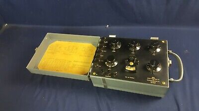 Vintage Leeds Northrup Ks-10376 Null Voltage Test Set West Electr 3-day Refund