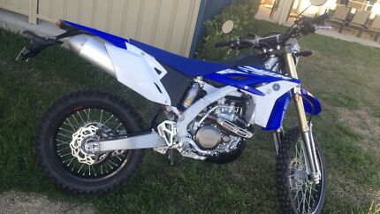 2015 wr450 registered perfect new condition
