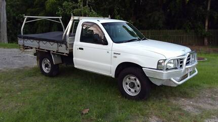 2005 FORD COURIER GL 4X4 DIESEL
