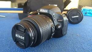nikon D5100 18 megapixel camera with camera bag and lens Cloverdale Belmont Area Preview
