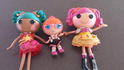 3 la la loopsy dolls