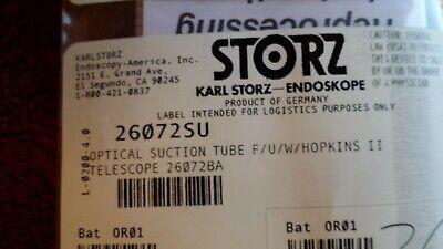 26072su Karl Storz Optical Suction Tube W Hopkins Scope 26072ba