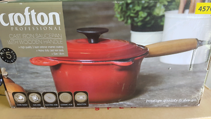 Crofton Cast Iron Saucepan