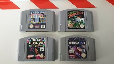 Nintendo N64 The New Tetris & Silicon Valley & Lode Runner 3D & Bust A Move 2