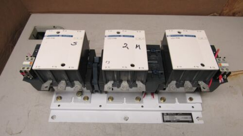 SQUARE D 8930CEQ6207G1 CARRIER 30GX400749 W/ 3 LC1 F115 CONTACTOR 110V COIL