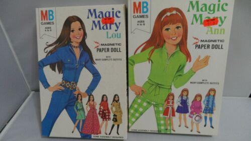 MAGIC MARY ANN & MAGIC MARY LOU  UNCUT   NEW     LOT OF 2
