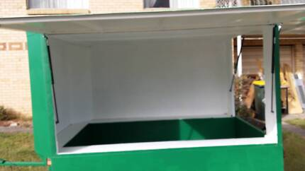 7x4 box trailer with 8x6 lock-up canopy Enclosure Sunnybank Hills Brisbane South West Preview