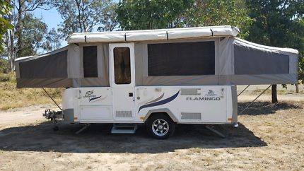 Jayco flamingo camper trailer