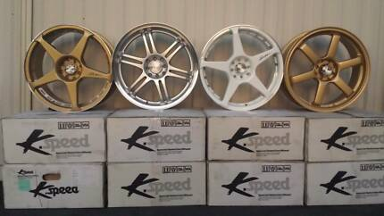 Brand New Wheel & Tyre Package 18'' Alloys Mags 4 stud multi Merrylands Parramatta Area Preview