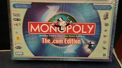 NEW MONOPOLY THE .COM EDITION:2000 PARKER BROTHERS/HASBRO -