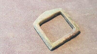 Lovely Tudor bronze buckle found in England. Please read description. L133u