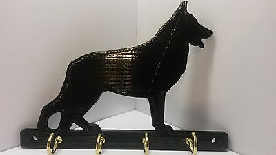 (ABS Plastic German Shepherd Dog Leash Holder Hanger Key Rack FREE SHIPPING)