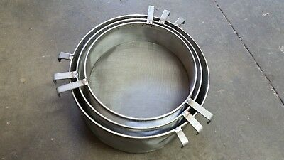 Stacking Stainless Steel Drum Filters For 55 Gal Drums Fits Plasticmetal Drums