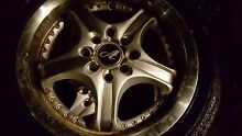 """4 x 15 """" rims need new tyres Glendenning Blacktown Area Preview"""