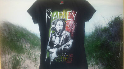 Zion Rootswear Ladies M Bob Marley & the Wailers Concert T-Shirt