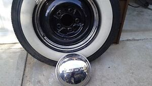 Classic ford rims and Coker radial white walls
