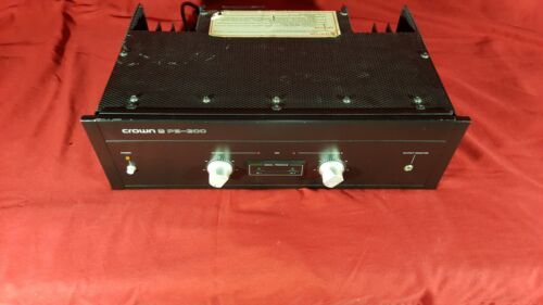 Crown PS 200 Power Amplifier