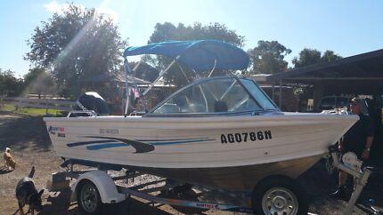 Quintrex 430 escape Bunglegumbie Dubbo Area Preview