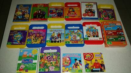 Bulk Children's DVDs - Wiggles and more - 18 in total!
