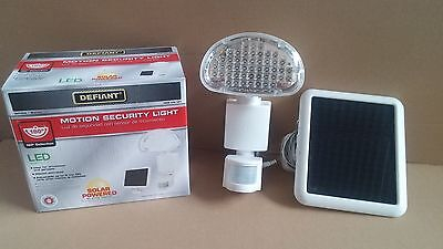 48 SMD LED Security Flood Unveil Outdoor Solar Powered Motion Activated Light